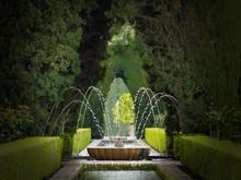 Alhambra Garden Fountain