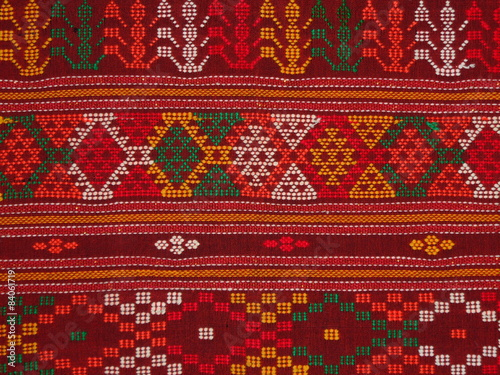 Traditional cloth called ulos batak Wallpaper Mural