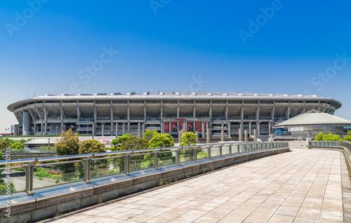 Deurstickers Stadion 横浜 横浜国際総合競技場