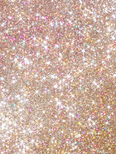 Orange Polarization Pearl Sequins, Shiny Glitter Background