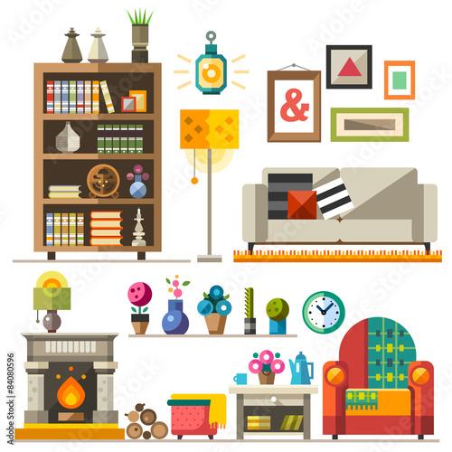 Fotografie, Obraz  Home furniture. Interior design