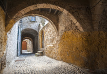 Street In Rhodes Old Town, Gre...