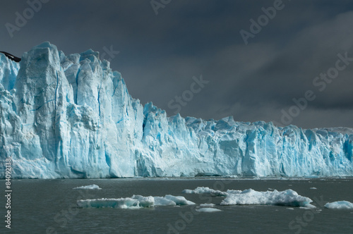Foto op Canvas Gletsjers Perito Moreno Glacier close-up, lago Argentino