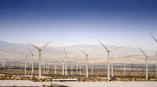 Wind Natural Energy Turbines, Palm Springs,CA