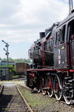 stara lokomotywa parowa