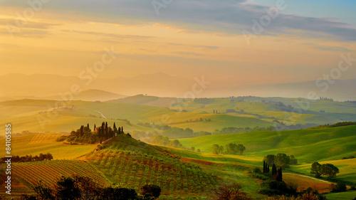 Beautiful Tuscany hills, Italy.