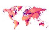 Mapamundi zanahorias (world map carrots) - 84106956