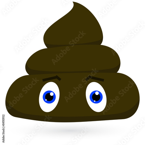 Smelly Pile Of Poop Cartoon Character Vector Buy This Stock Vector