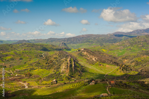 Aluminium Prints Landscapes Leonforte countryside, Sicily