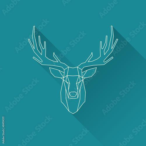 Fotografía  deer frame invert