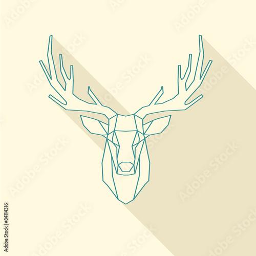 Fotografía  deer frame