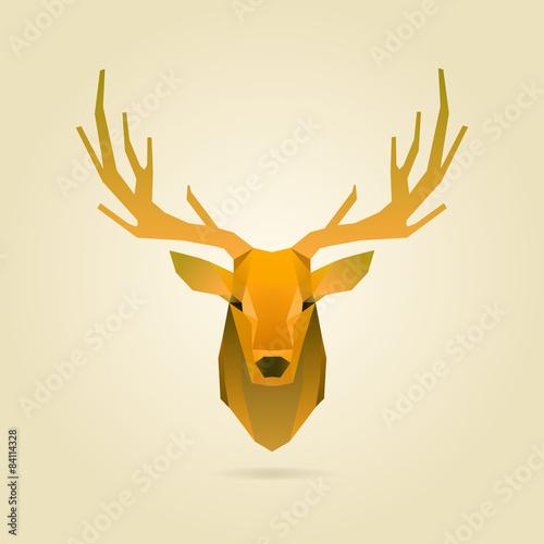 Pinturas sobre lienzo  deer portrait