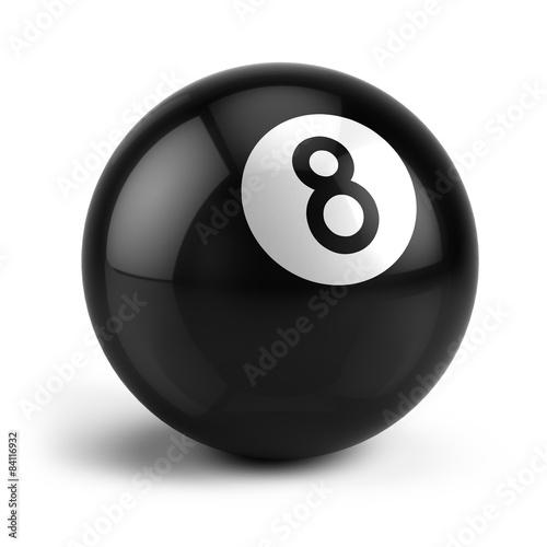 Fotografía Billiard Snooker eight ball