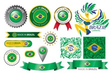 Made In Brazil, Brazilian Flag...