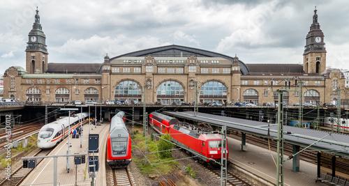 Fotomural Bahnhof train station