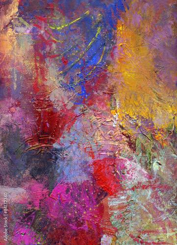 Fototapety, obrazy: malerei texturen pastos
