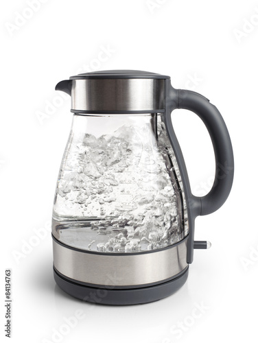 Fotografija  Electric kettle isolated on white background