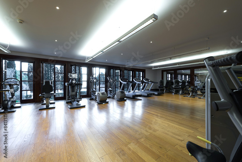 Poster Fitness Health and recreation room