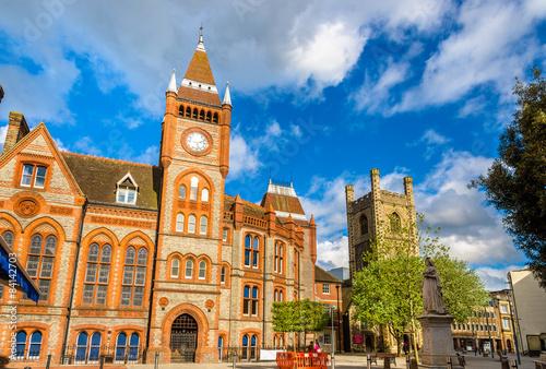 Carta da parati Town hall of Reading - England, United Kingdom