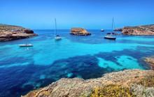 Blue Lagoon In Malta On The Is...