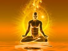 Meditation With Golden Light
