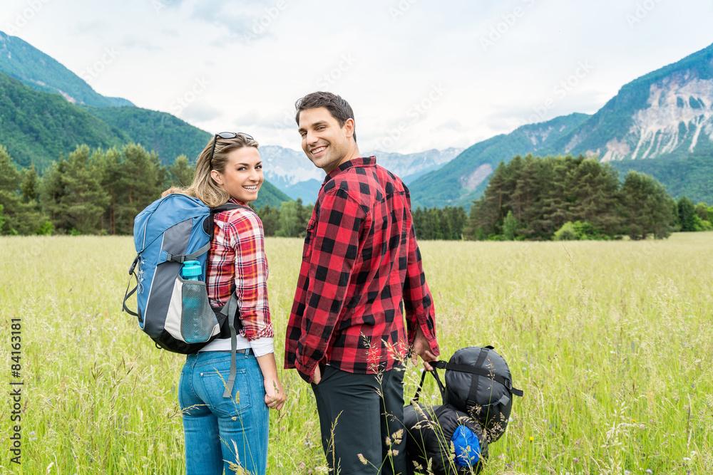 Fototapety, obrazy: Trekking (Ivana, David Rumetshofer)