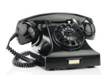 Old Retro Bakelite Telephone.