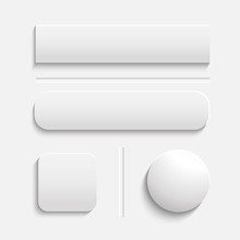 Buttons White