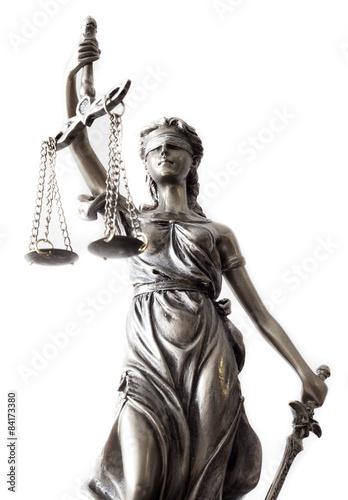 Statue of justice Canvas-taulu