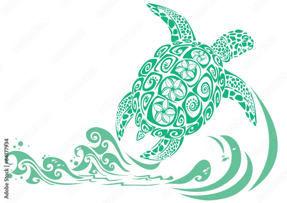 Photo Geen turtle