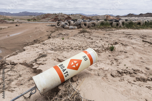 Lake Mead Drought Poster