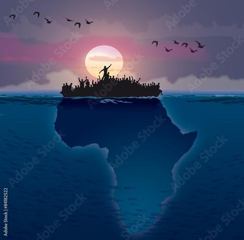 Afrique - Émigration