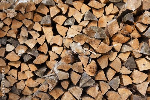 In de dag Brandhout textuur firewood