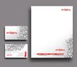 Corporate Identity Template. Vector illustration