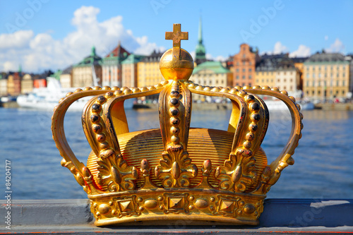 Photo  Crown in Stockholm