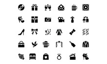 Wedding Vector Icons 2