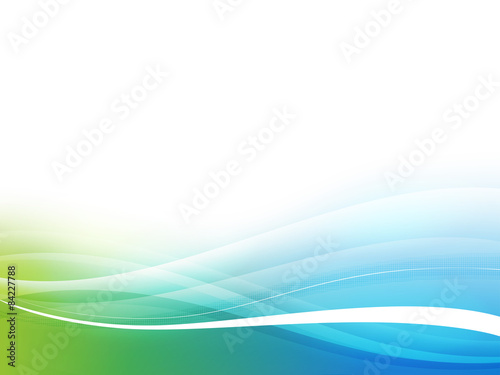 Fotobehang Abstract wave Abstract background. 10 EPS.
