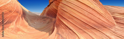 Photo sur Aluminium Arizona The Wave, Coyote Buttes North, Utah, Arizona
