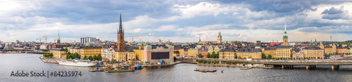 Fototapety, obrazy: Panorama of  Stockholm, Sweden