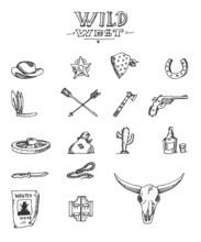 Wild West Design Sketch