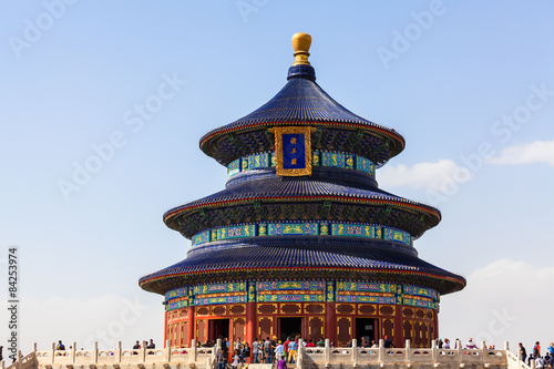 Poster Pékin Chinese Temple of Heaven in Beijing