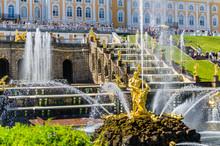 Samson Fountain And Big Cascad...