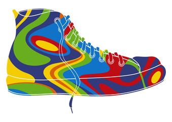 FototapetaBasket pop art