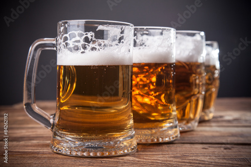 Fotografia  Mug of beer