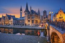 Ghent. Image Of Ghent, Belgium...