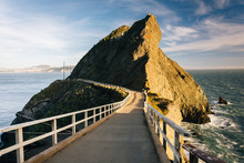 Trail At Point Bonita, In  Golden Gate National Recreation Area,