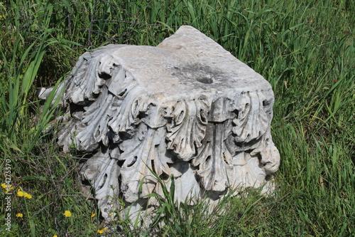 Fototapeta korinthisches Kapitell