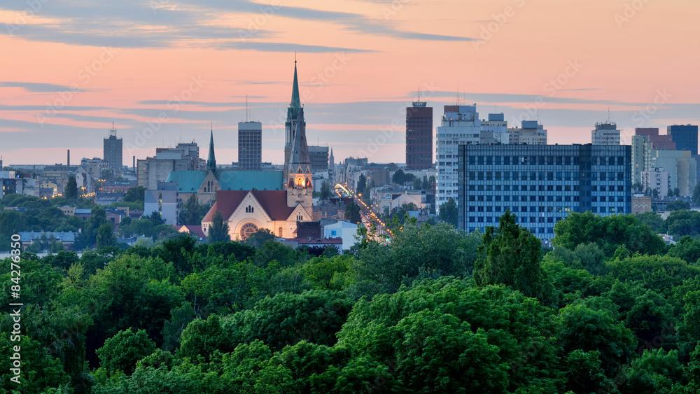Fototapeta Łódź, Polska