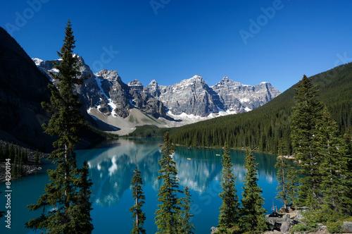 Foto op Canvas Canada Moraine Lake in Banff National Park