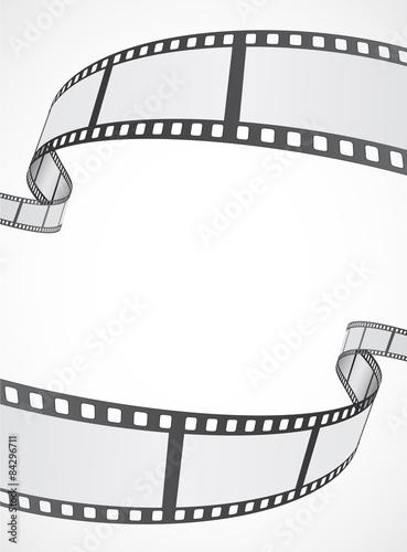 Obraz film reell strip abstract frame background - fototapety do salonu